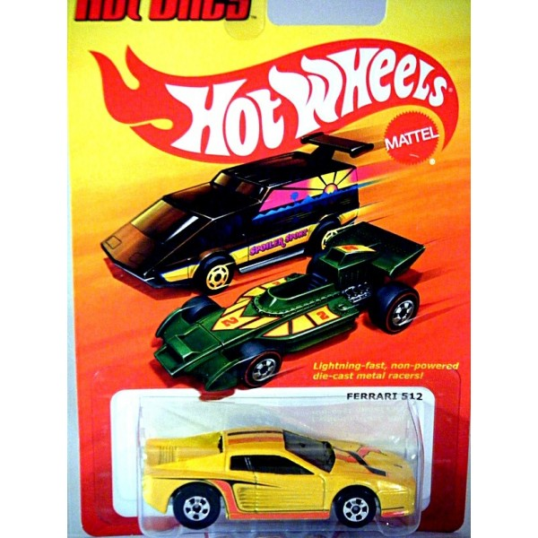 Hot Wheels - The Hot Ones - Ferrari 512
