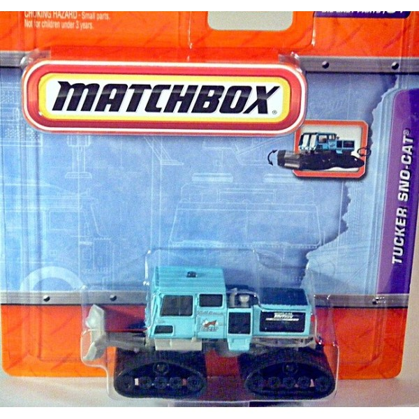 Matchbox Working Rigs Tucker Sno Cat Global Diecast Direct