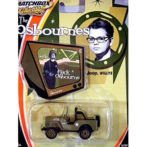 Matchbox Collectibles - Jack Osbourne Military Jeep