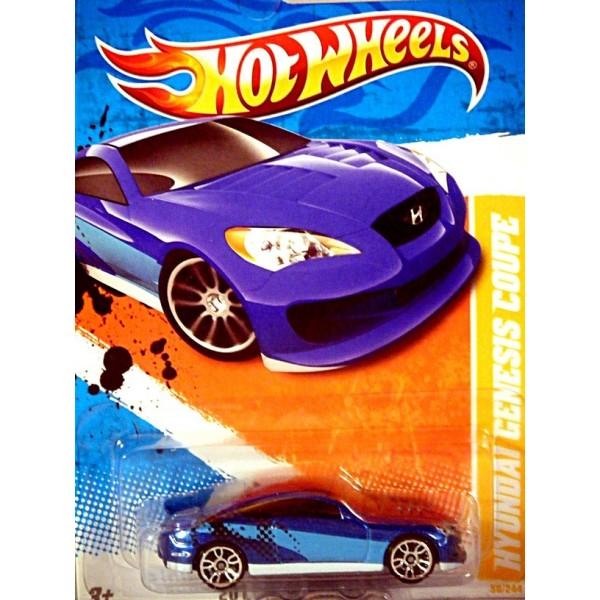 Hot Wheels 2011 New Models Series - Hyundai Genesis Coupe ...