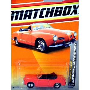 Matchbox Volkswagen Karmann Ghia Convertible