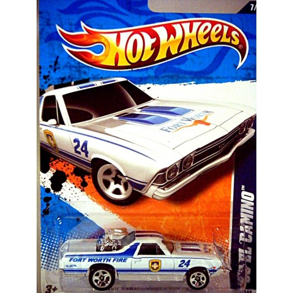 Hot Wheels 1968 Chevrolet El Camino Fort Worth Fire ...