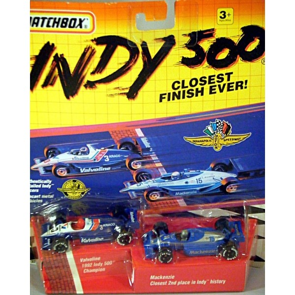 Matchbox Indy 500 Series Closest Finish Ever Set Al