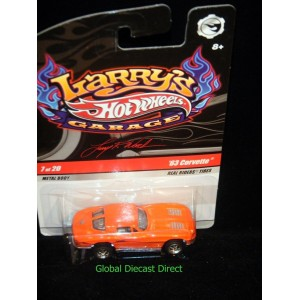Hot Wheels Larrys Garage 1963 Chevrolet Corvette Split Window Coupe