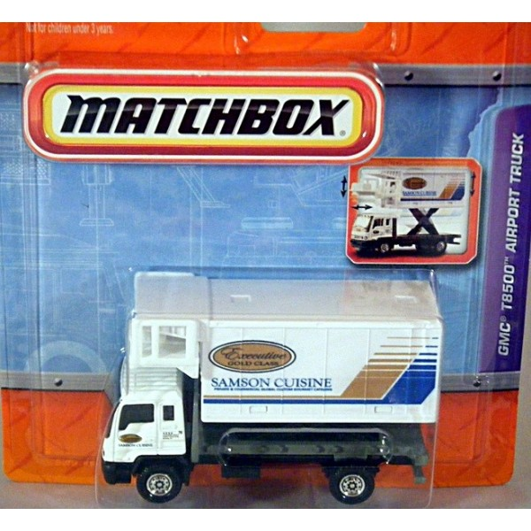 Matchbox Working Rigs Gmc T8500 Airport Catering Truck