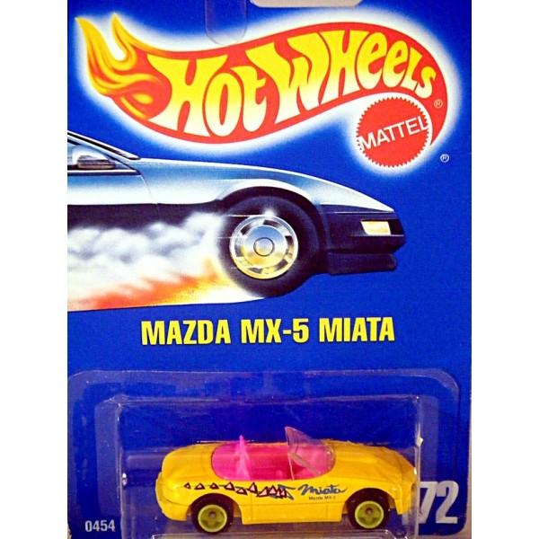 Hot Wheels Mazda Mx 5 Miata Sports Car Global Diecast Direct