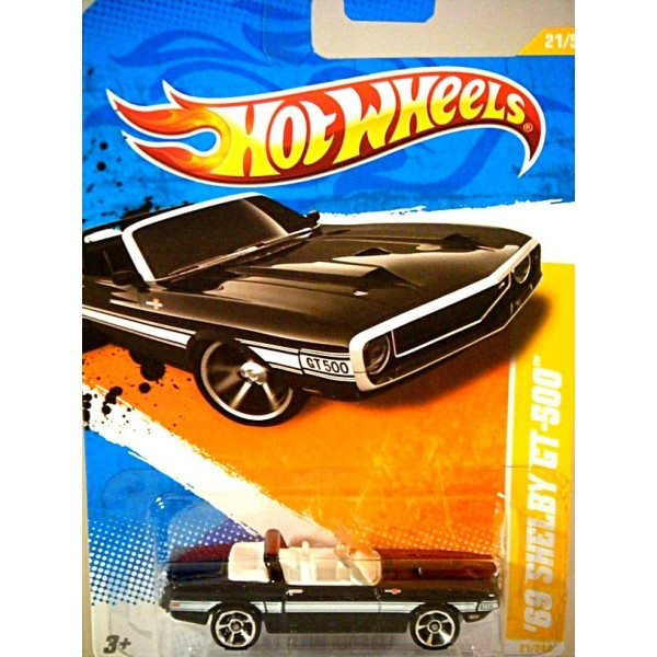 Lightning Blue Mustang >> Hot Wheels New Models Series - 1969 Ford Mustang Shelby GT-500 Convertible - Global Diecast Direct