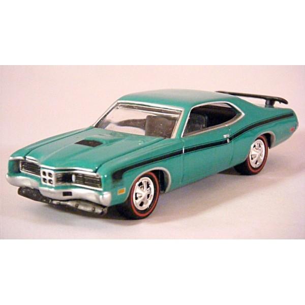 johnny lightning - 1971 mercury cyclone spoiler muscle car - global