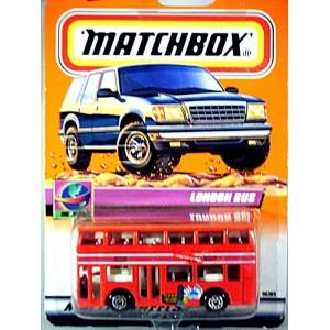 Matchbox - Leyland Titan London with Concorde Ads