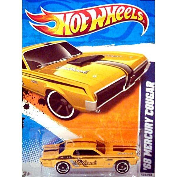 Hot Wheels - 1968 Mercury Cougar Edelbrock