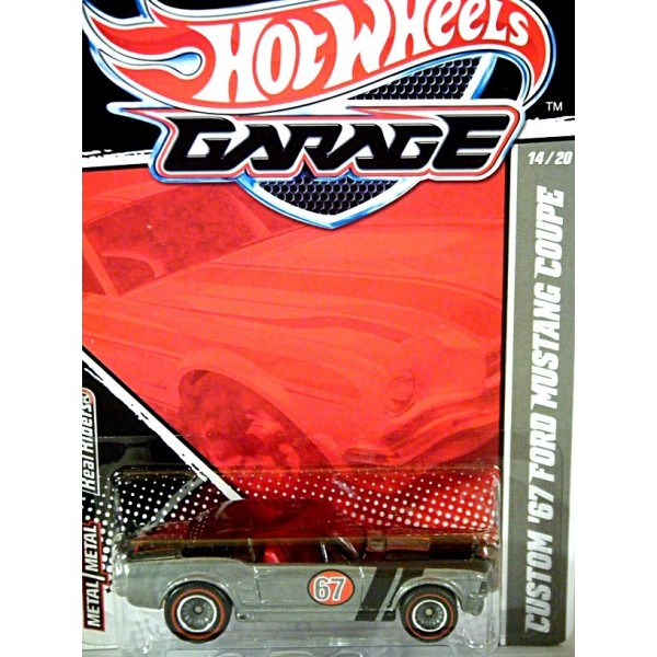 Hot Wheels Garage Series Ford Mustang Coupe