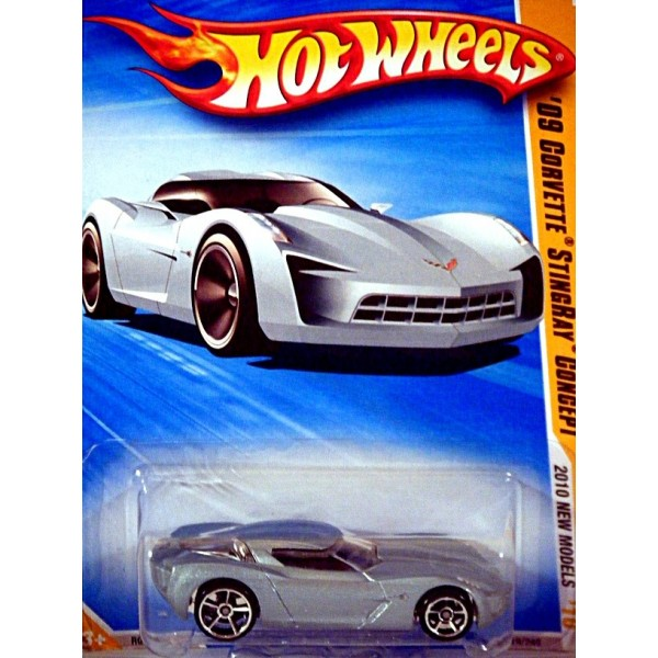 Hot Wheels New Models Series 2009 Chevrolet Corvette Stingray