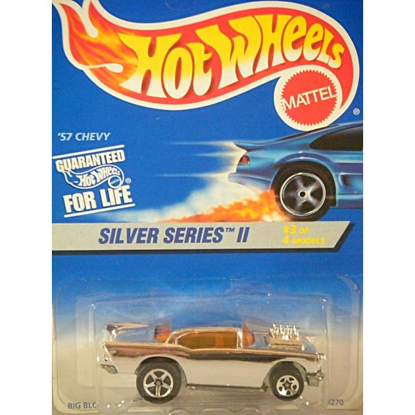Hot Wheels Silver Series Ii 1957 Chevy Bel Air Global Diecast Direct