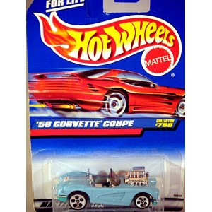 Hot Wheels - 1958 Chevrolet Corvette Coupe