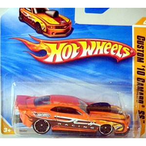 Hot Wheels Chevrolet Camaro NHRA Race Car (Short Card)