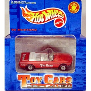 Hot Wheels - Toy Cars Magazine Promo - 1965 Ford Mustang Convertible