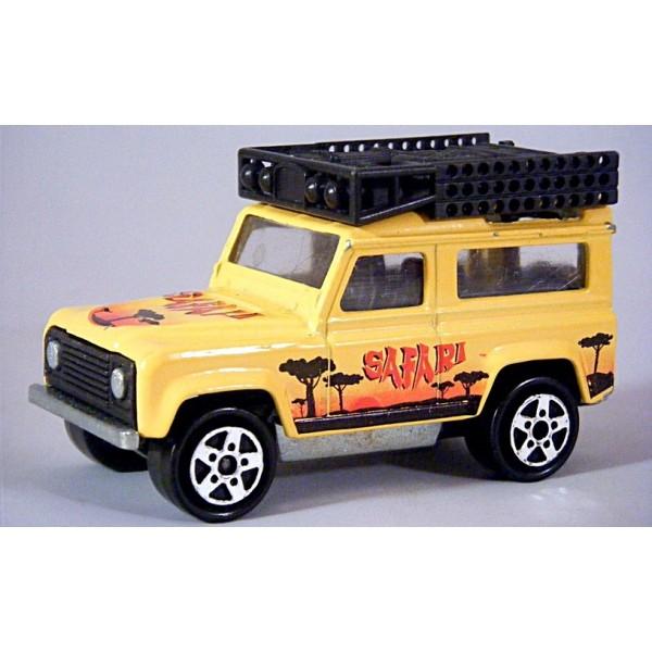 Majorette Land Rover Defender Safari Global Diecast Direct