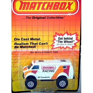 Matchbox Chevy Van 4x4 Matchbox Racing Truck