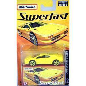 Matchbox Superfast - Lamborghini Diablo