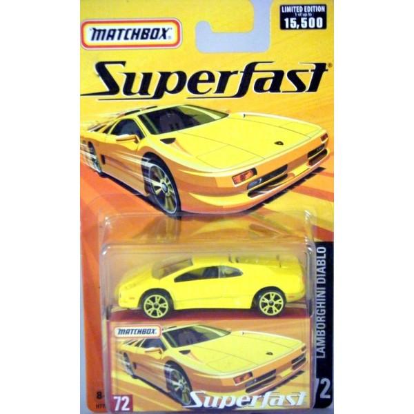 Matchbox Superfast Lamborghini Diablo Global Diecast