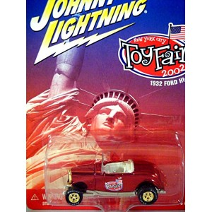 Johnny Lightning Limited Edition 2002 Toy Fair Promo 1932 Ford Hiboy Roadster
