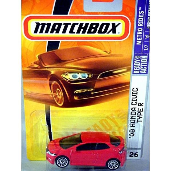 Honda El Monte >> Matchbox Honda Civic Type R - Global Diecast Direct