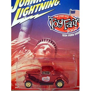 Johnny Lightning Limited Edition 2002 Toy Fair Promo 1934 Ford Coupe