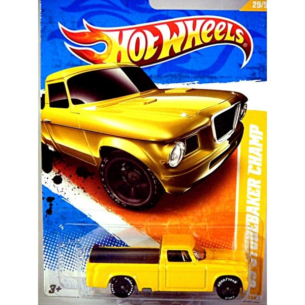 Hot Wheels 1963 Studebaker Pickup Truck Global Diecast