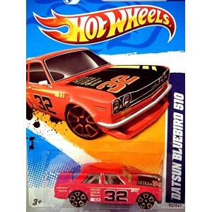 Hot Wheels Datsun Bluebird 210 Sedan SCCA Race Car FTE Wheels