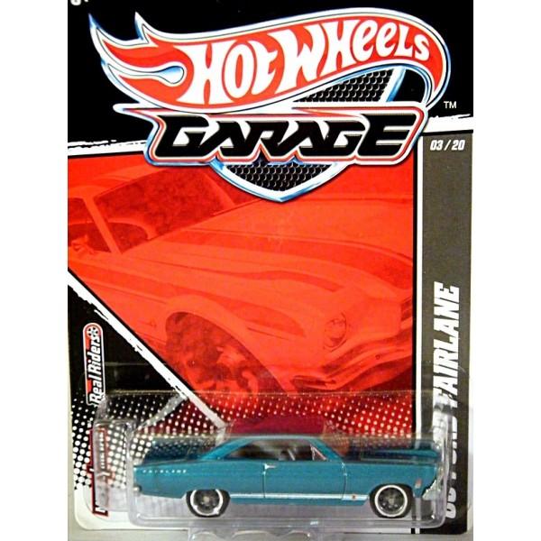hot wheels garage series - 1966 ford fairlane muscle car - global