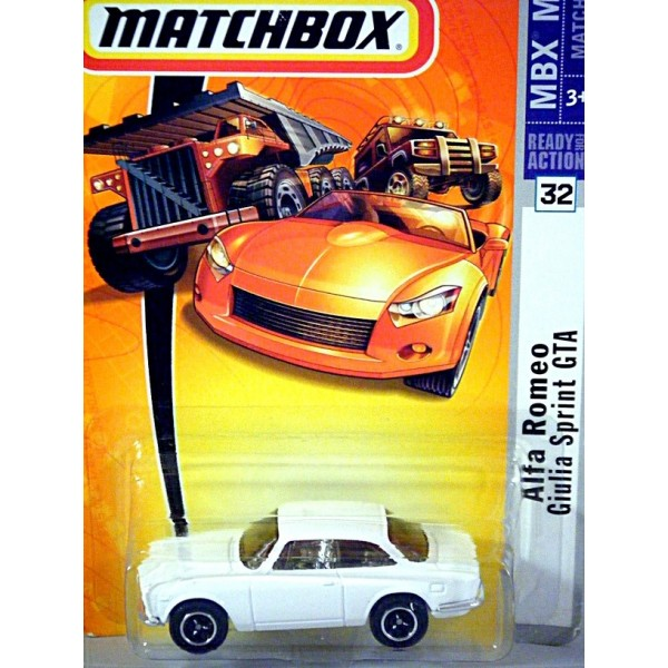 Matchbox Alfa Romeo Guilia Sprint GTA