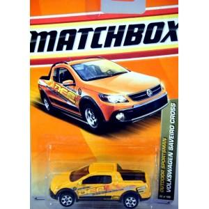 Matchbox - Volkswagen Saveiro Cross - Off Road Expedition Truck