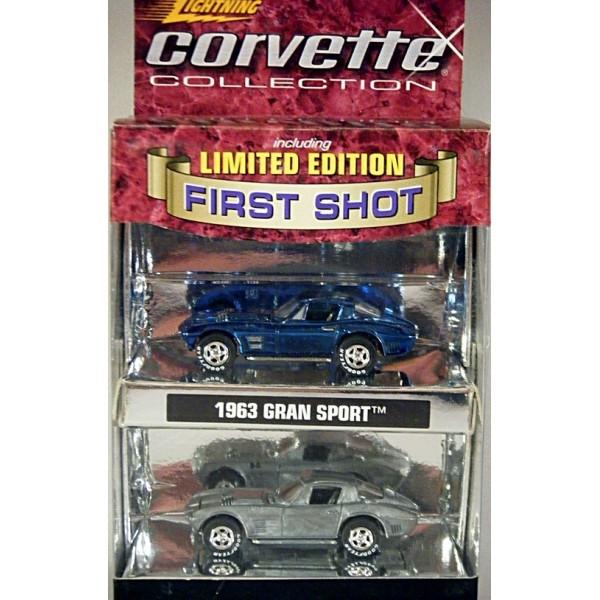 Johnny Lightning First Shots 1963 Chevrolet Corvette Grand Sport