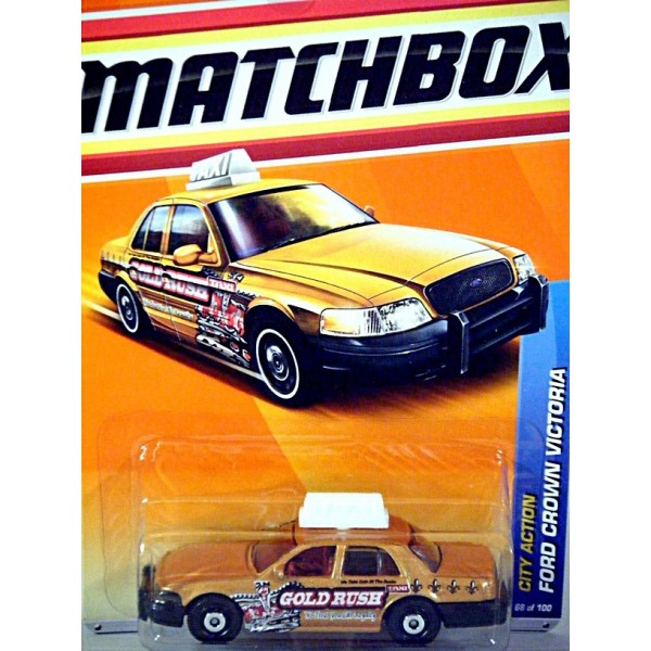 Matchbox Ford Crown Victoria Taxi Cab Global Diecast