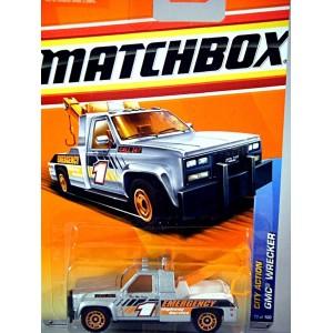 Matchbox - GMC Tow Truck - Wrecker