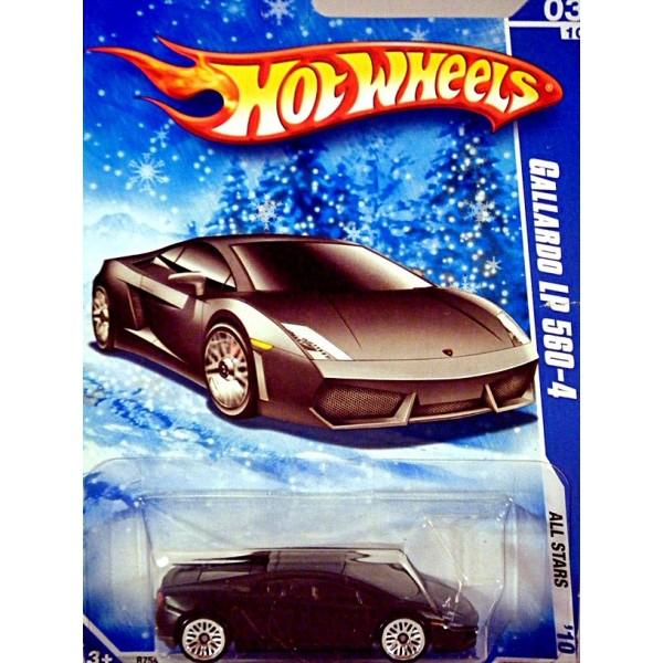 Hot Wheels Lamborghini Gallardo Lp 570 4 Snowflake Card Global