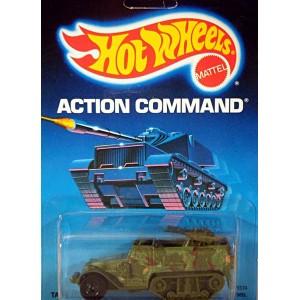 Hot Wheels Action Command - Tank Gunner Military Half