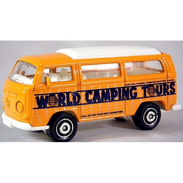 Matchbox - Volkswagen World Camping Tours T2 Camper ...