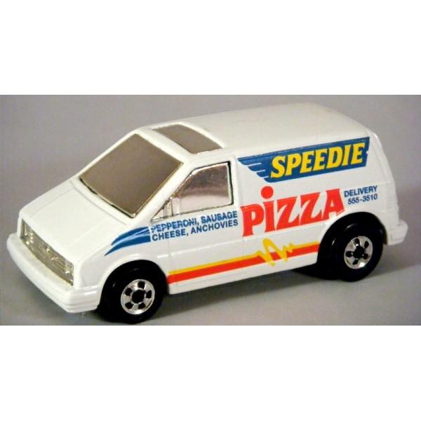 hot wheels ford aerostar speedie pizza delivery van global diecast direct