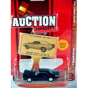Johnny Lightning Auction Insanity Series - 1970 Plymouth AAR Cuda