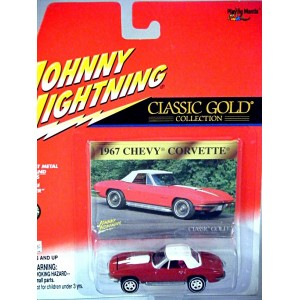 Johnny Lightning 1967 Chevrolet Corvette Convertible
