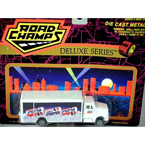 Chevrolet Truck Models >> Road Champs Deluxe Series - Pepsi Cola Delivery Truck - Global Diecast Direct
