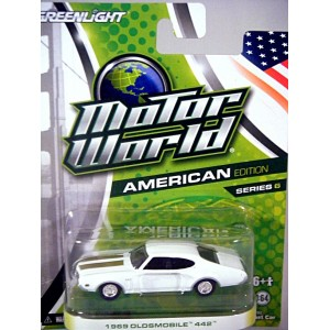 Greenlight Motor World - 1969 Oldsmobile 442
