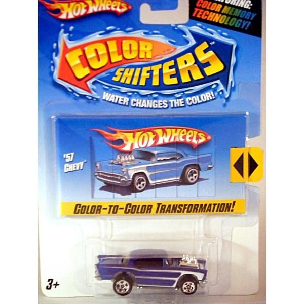Hot Wheels Color Shifters - 1957 Chevrolet BelAir - Global ...