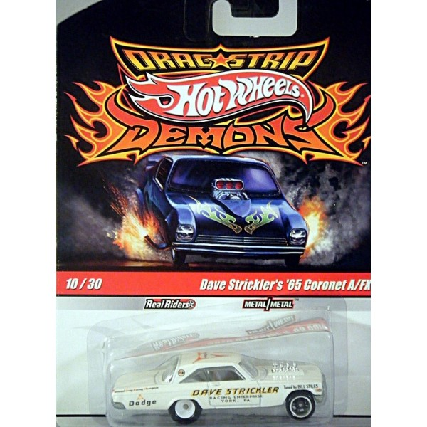 New Dodge Trucks >> Hot Wheels Dragstrip Demons Dave Stricklers 1965 Dodge Coronet NHRA A FX - Global Diecast Direct