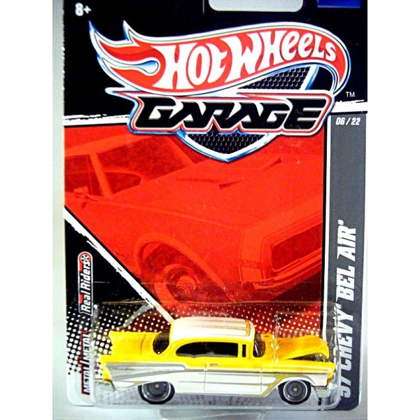 Hot Wheels Garage Series - 1957 Chevrolet Bel Air - Global ...