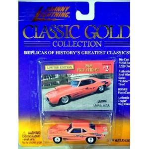 Johnny Lightning 1969 Chevrolet Camaro NHRA Pro Street