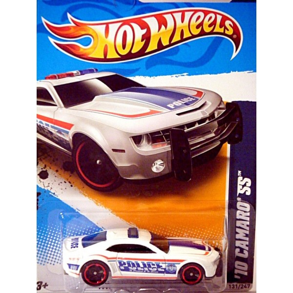 Hot Wheels Chevrolet Camaro Police Patrol Car With Bumper Unit