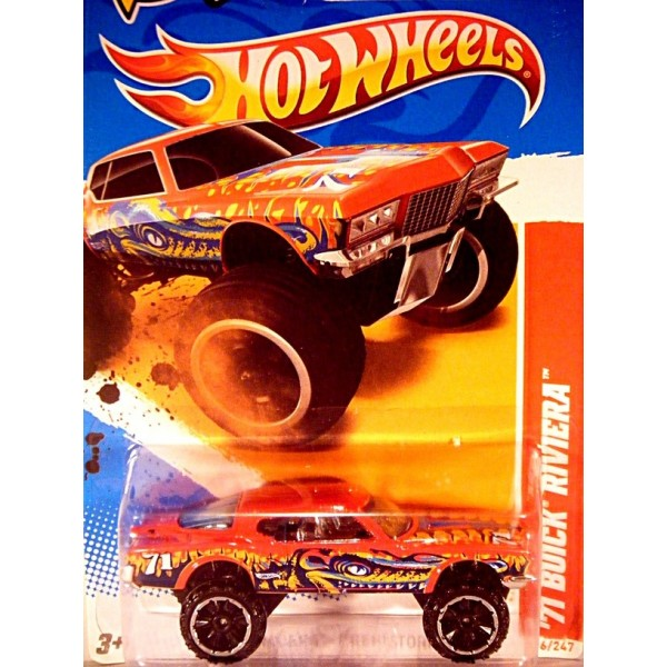Hot Wheels Hi-Rakers - 1971 Buick Riviera DONK - Global ...