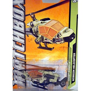 Matchbox - Anaconda Tours Mission Helicopter